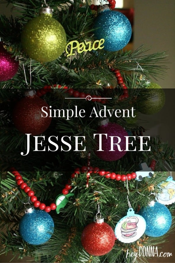 Advent Jesse Tree