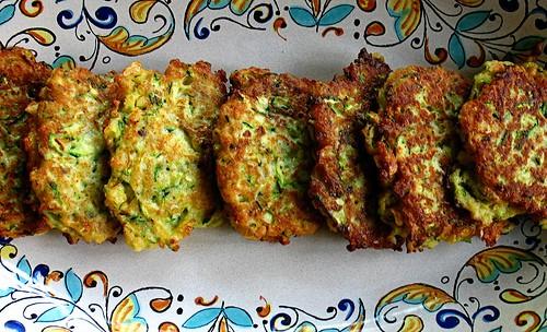 Faux Crab Cakes Zucchini
