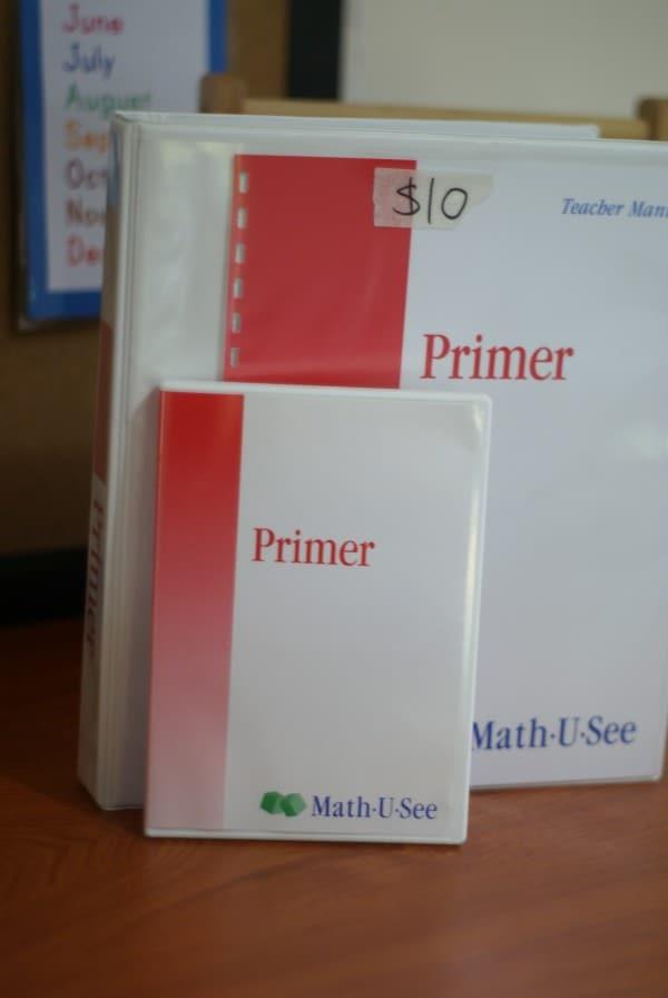 Primer Math U See
