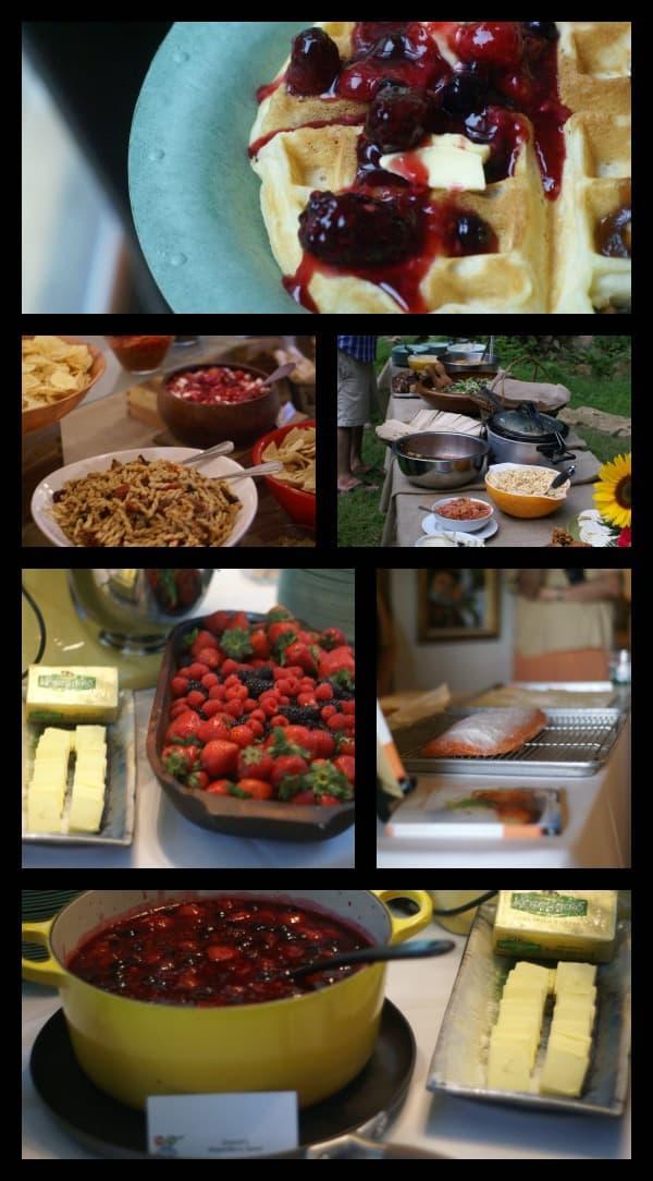 Big Summer Potluck Food
