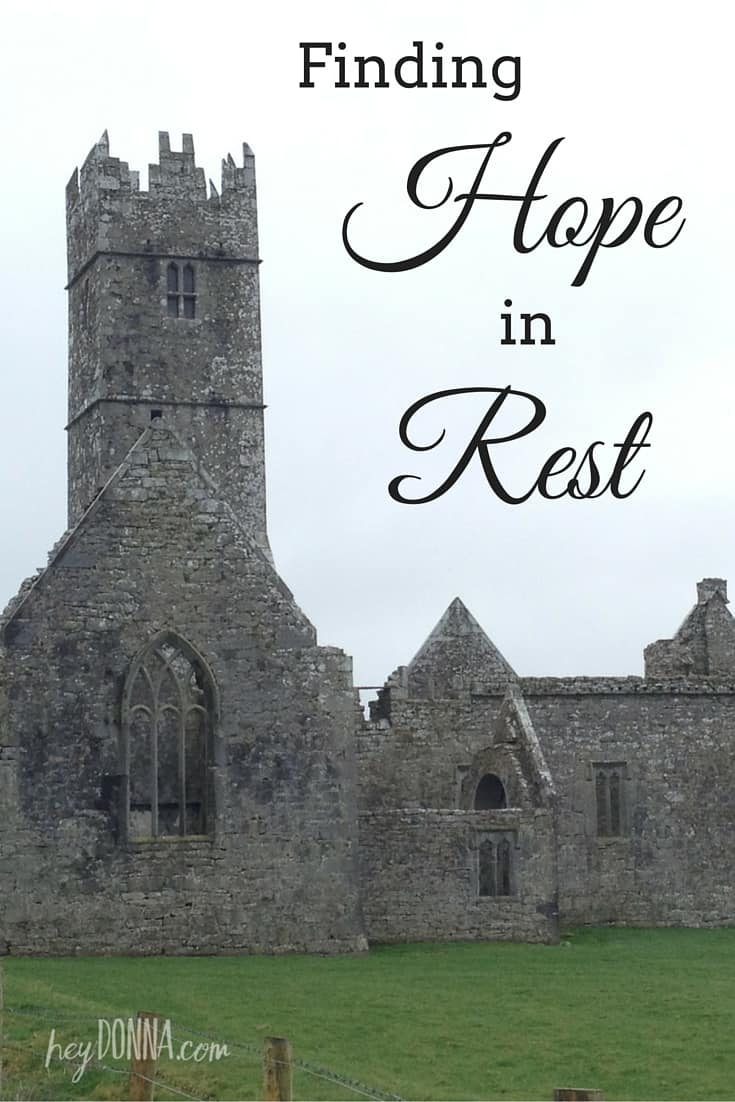 Finding Hope in Rest