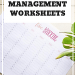 Productivity worksheet