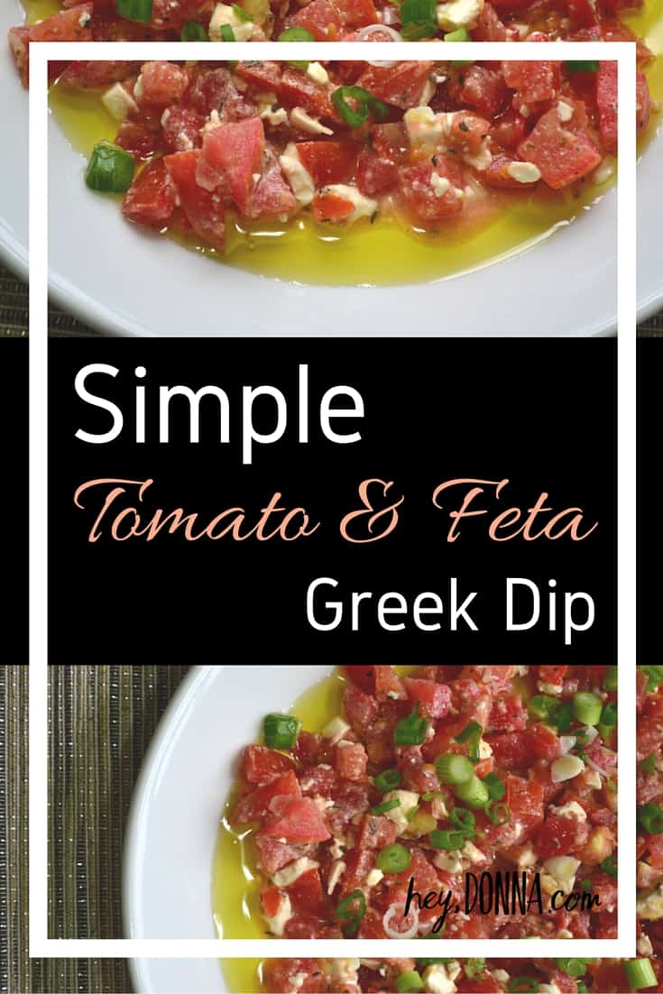 Simple Tomato and Feta Dip Recipe