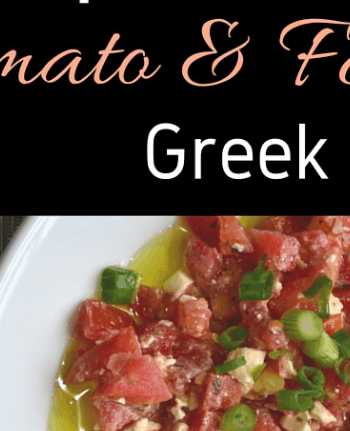 Tomato and Feta Greek Dip