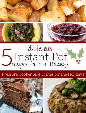 Instant Pot Recipes for Holidays