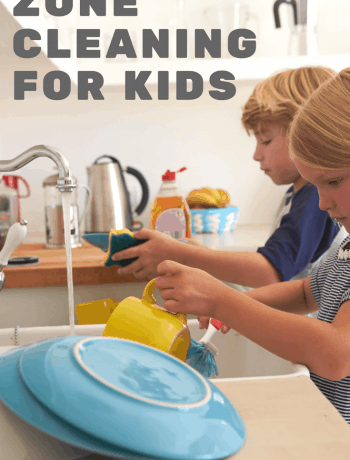 Zone Cleaning for Kids