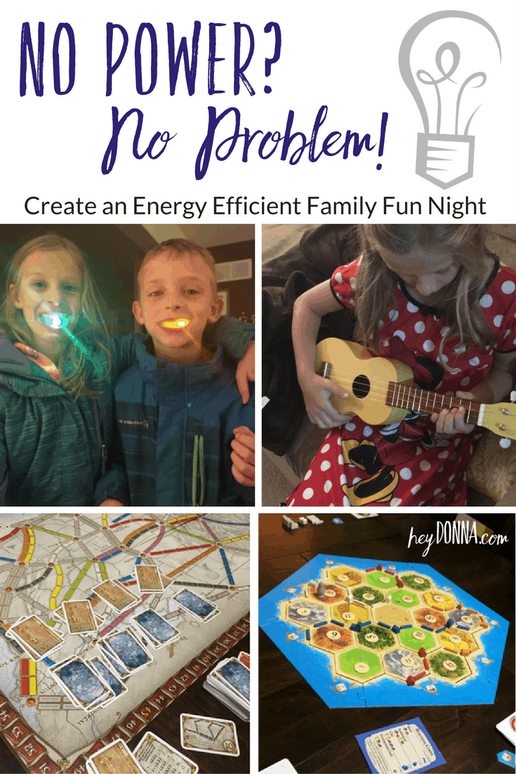 Energy Efficient Family Fun Night