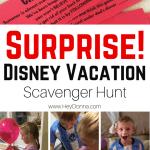 Surprise Disney Vacation Scavenger Hunt