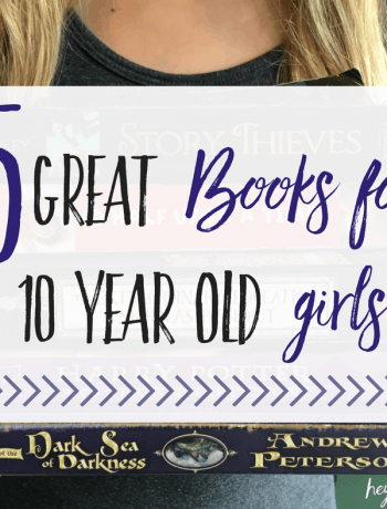 5 Great Books for 10 Year Old girls featured image fi