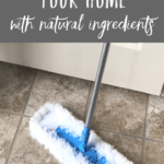 Cleaning with natural ingredients