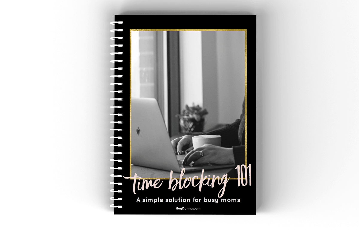 Time Blocking Workbook