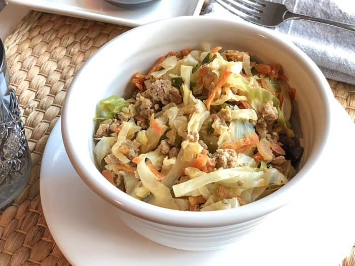 Egg roll in a bowl recipe in a bowl