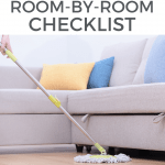 Room by room cleaning checklist