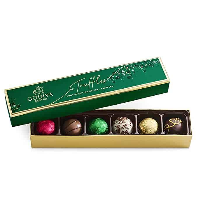 Stocking Stuffers For Working Moms - Box of 6 Chocolate Truffles