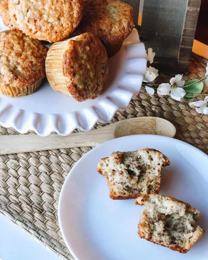 Baked muffins - baking activity for teens.