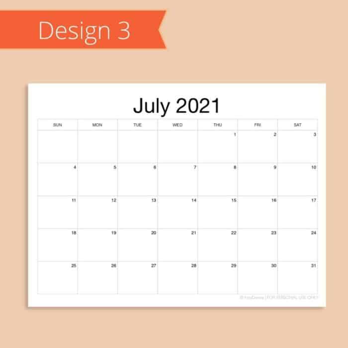 2021-2022 School Calendar Template