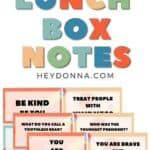 Lunch Box notes   Encouraging lunch box notes   Lunch Box Jokes   Funny Lunch Box Notes
