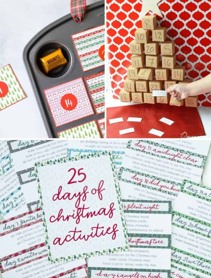 make your own advent calendar for kids